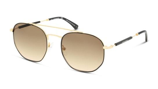 CKJ 20107SGV Men's Sunglasses Brown / Gold