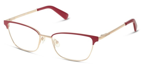 LO 2102 Women's Glasses Transparent / Red
