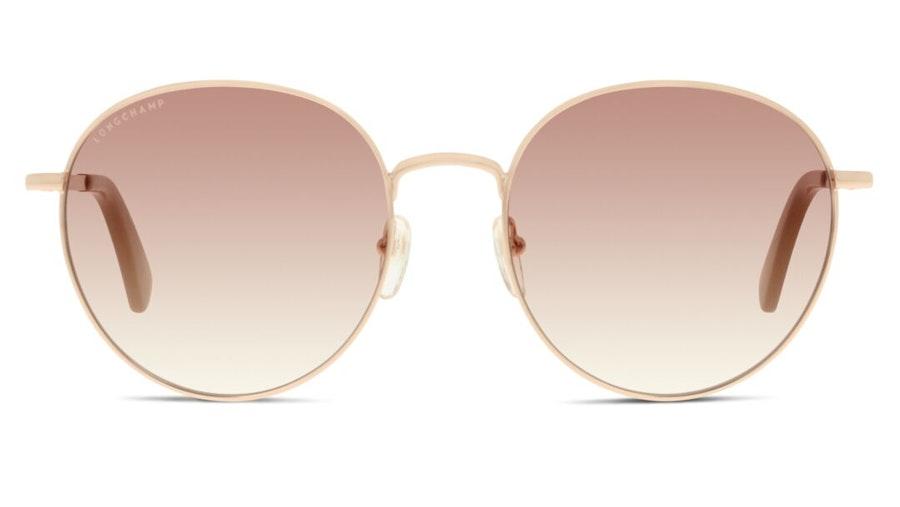 Longchamp LO 101S Women's Sunglasses Brown / Gold