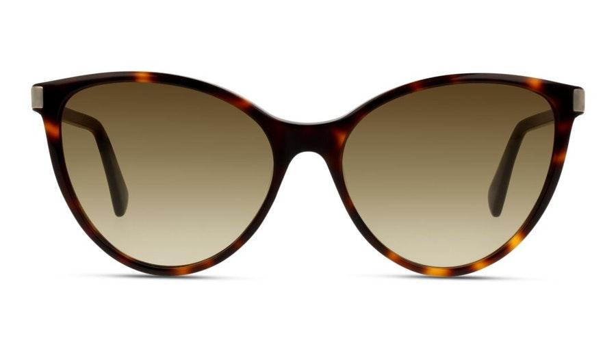 Longchamp LO 624S Women's Sunglasses Brown / Tortoise Shell