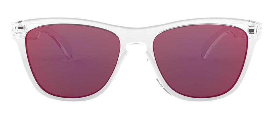 Oakley Frogskins OO 9013 Men's Sunglasses Orange / Transparent