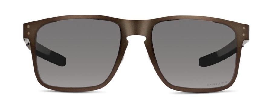 Oakley Holbrook Metal OO 4123 (412306) Sunglasses Silver / Grey