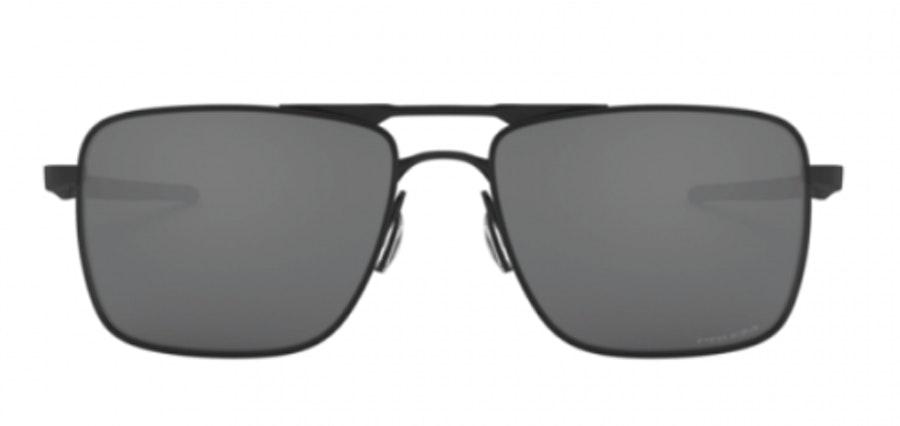 Oakley Gauge 6 OO 6038 (603801) Sunglasses Silver / Black