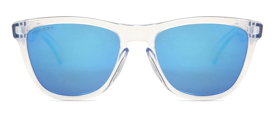 Oakley Frogskins OO 9013 Men's Sunglasses Blue / Transparent