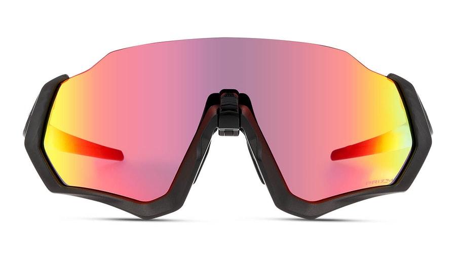 Oakley Flight Jacket OO 9401 (940101) Sunglasses Pink / Grey