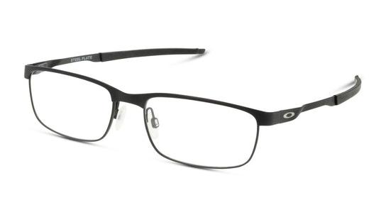 Steel Plate OX 3222 (Large) Men's Glasses Transparent / Black