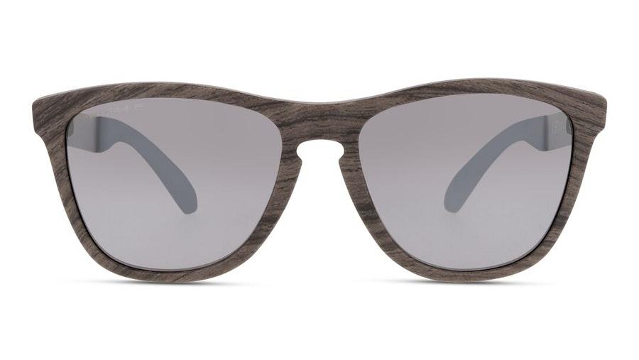 Oakley Frogskins Mix OO 9428 (942807) Sunglasses Grey / Brown