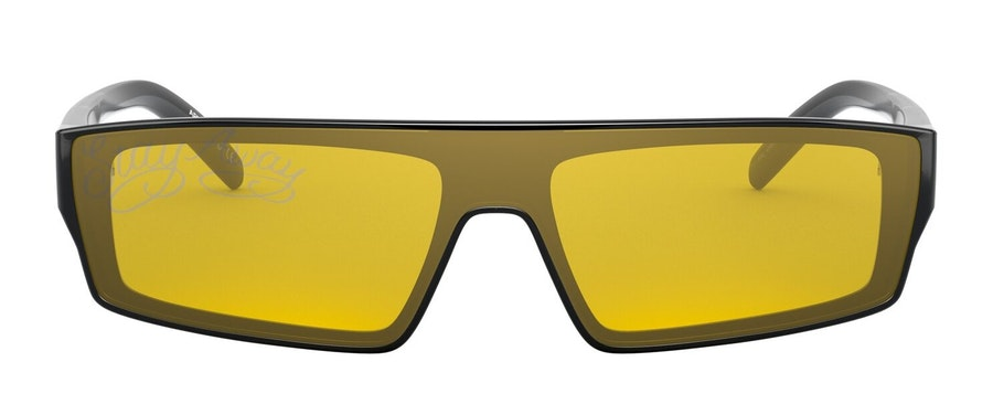Arnette Syke AN 4268 (41/AN) Sunglasses Yellow / Black