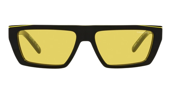 Woobat AN 4281 Unisex Sunglasses Yellow / Black