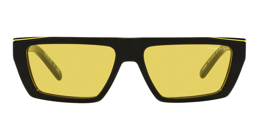 Arnette Woobat AN 4281 Unisex Sunglasses Yellow/Black