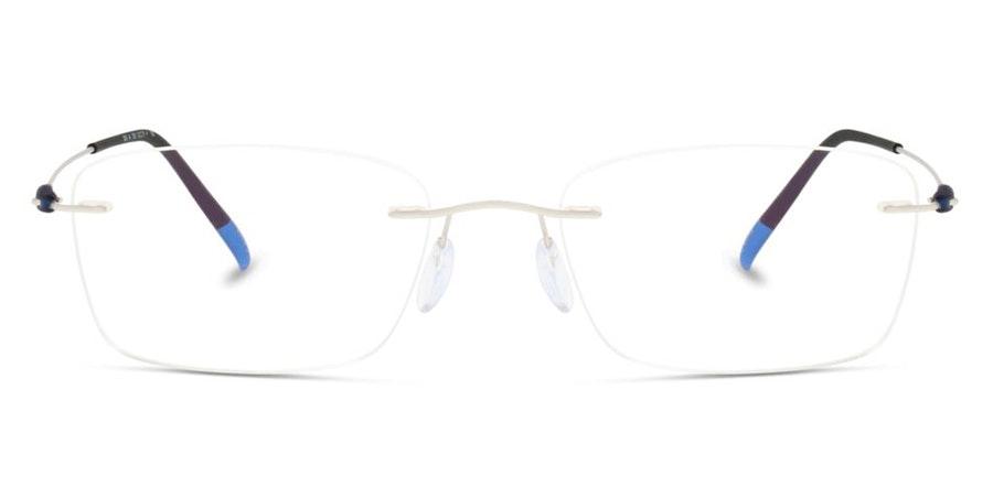 Silhouette Dynamics Colorwave 5500 Men's Glasses Silver
