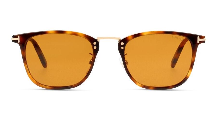 Tom Ford Anouk-02 FT 672 (53E) Sunglasses Brown / Havana