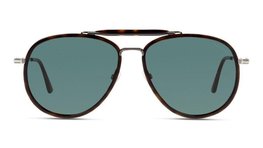 Tom Ford Anouk-02 FT 666 (52N) Sunglasses Grey / Havana
