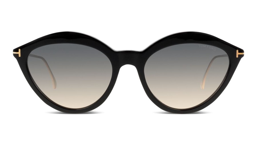 Tom Ford Anouk-02 FT 663 (01B) Sunglasses Grey / Black