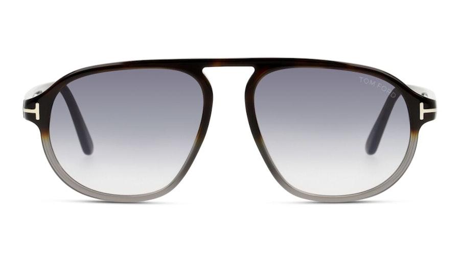 Tom Ford Vittorio FT 755 (55B) Sunglasses Grey / Havana