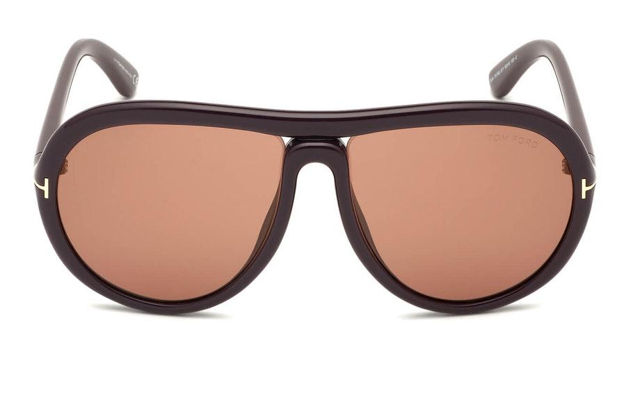 Tom Ford Vittorio FT 768 (81Y) Sunglasses Violet / Violet