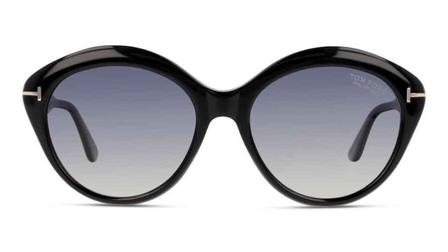 Tom Ford Fender FT 763 (01D) Sunglasses Grey / Black