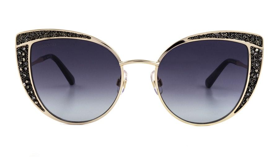Swarovski SK 0282 (32B) Sunglasses Grey / Gold