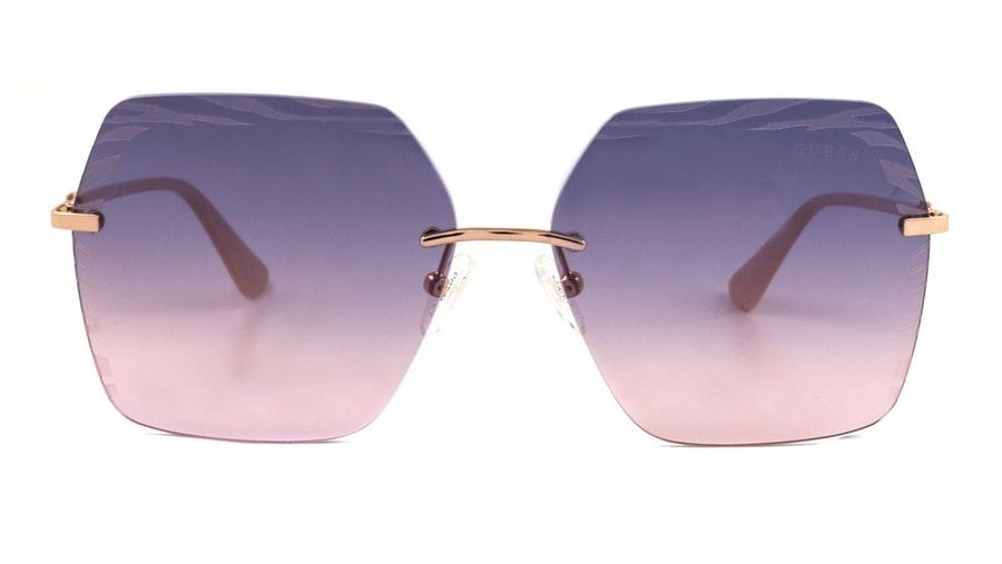 Guess GU 7693 Women's Sunglasses Blue / Pink