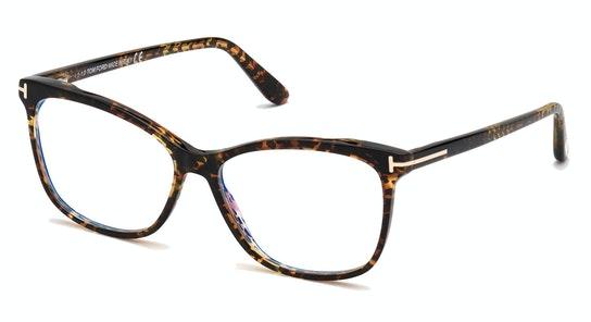 FT 5690-B (056) Glasses Transparent / Tortoise Shell