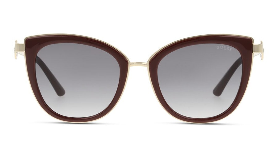 Guess GU 7768 (69B) Sunglasses Grey / Burgundy