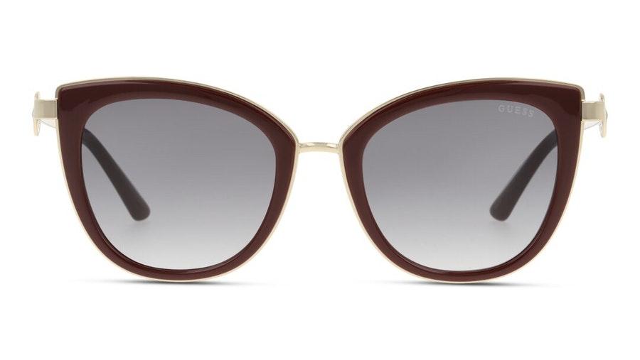 Guess GU 7768 Women's Sunglasses Grey / Burgundy