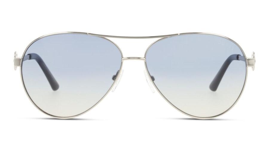 Guess GU 7770 Women's Sunglasses Blue / Silver
