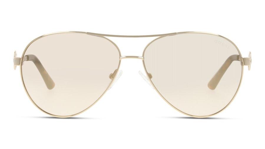 Guess GU 7770 Women's Sunglasses Grey / Gold