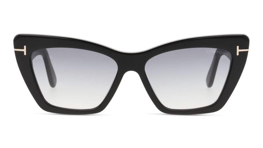 Tom Ford Wyatt FT 0871 (01B) Sunglasses Grey / Black