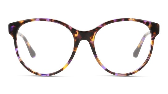 GU 2847 (Large) Women's Glasses Transparent / Violet