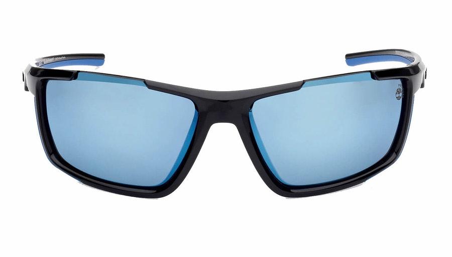 Timberland TB 9252 (01D) Sunglasses Grey / Black 1
