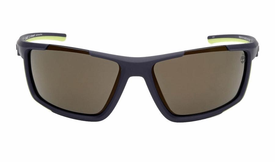 Timberland TB 9252 (91D) Sunglasses Grey / Blue 2