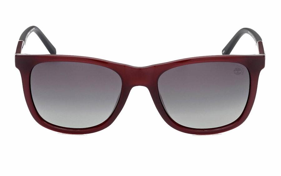 Timberland TB 9255 (69R) Sunglasses Green / Burgundy