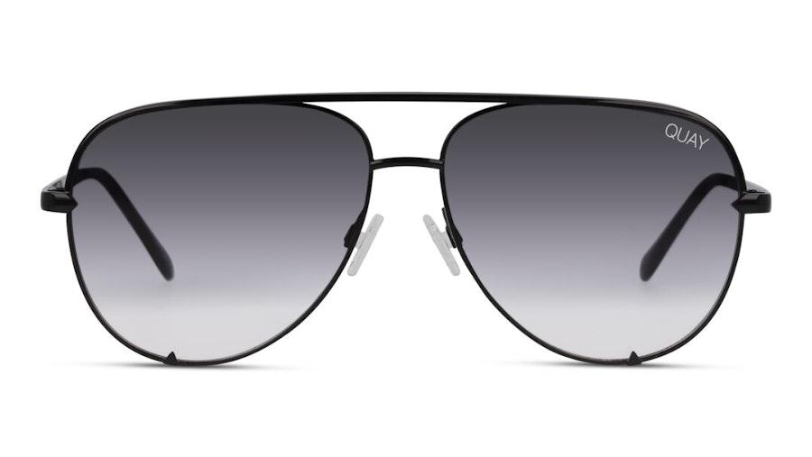 Quay High Key Mini QC-000268 Unisex Sunglasses Grey/Black