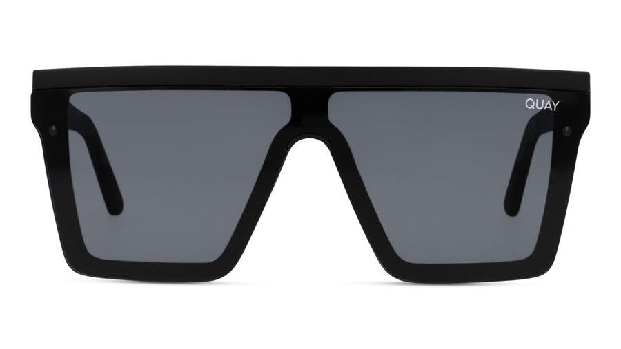Quay Hindsight QW-000311 (BLK/SMK) Sunglasses Grey / Black