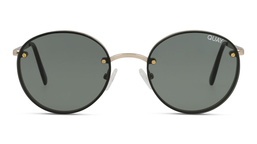 Quay Farrah QW-000399 Women's Sunglasses Green/Gold