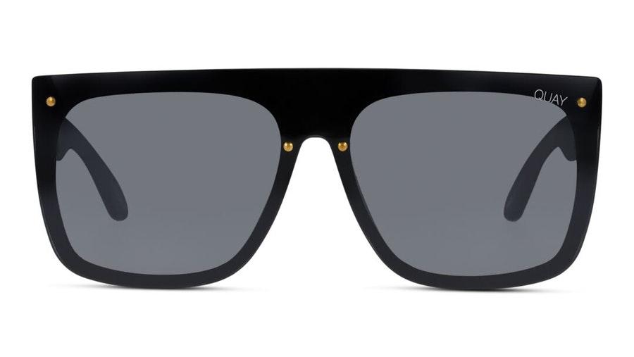 Quay Jaded QW-000537 (BLK/SMKFLS) Sunglasses Grey / Black
