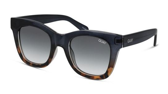 After Hours Oversized QU-000180 Women's Sunglasses Grey / Blue
