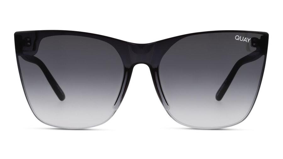Quay Come Thru QW-000609 (BLK/FADE) Sunglasses Grey / Black