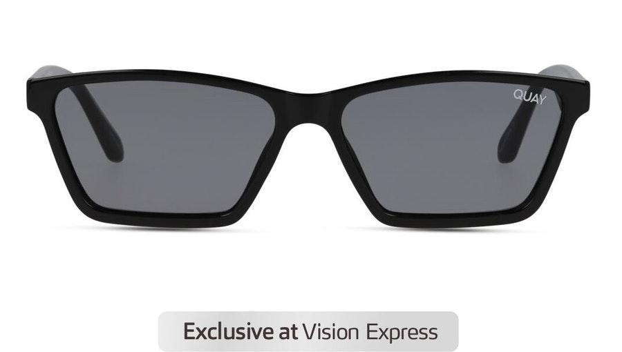 Quay Club Kid QW-000879 Unisex Sunglasses Grey / Black
