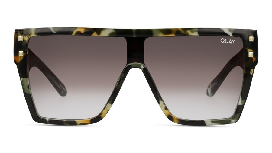 Quay Maxed Out QU-000891 (CAMOTRT/BR) Sunglasses Brown / Tortoise Shell