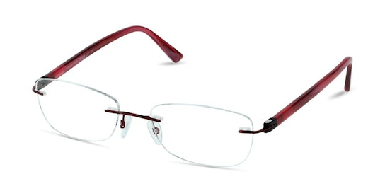 LF BF16 Women's Glasses Transparent / Red