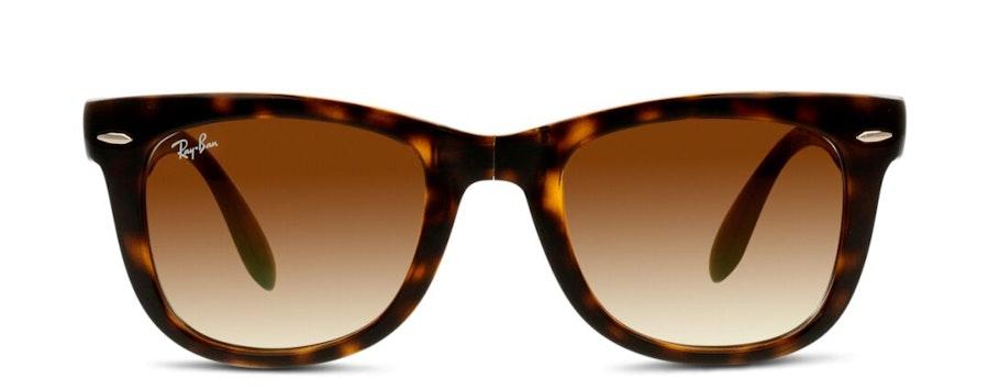 Ray-Ban Folding Wayfarer RB 4105 Unisex Sunglasses Brown/Havana