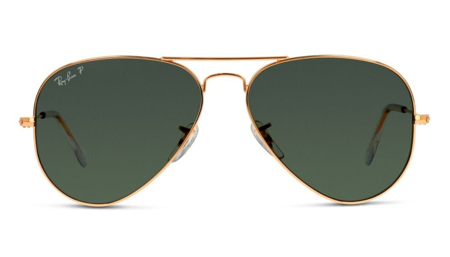 Ray-Ban Aviator RB 3025 Men's Sunglasses Green/Gold