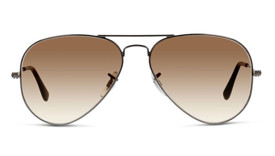 Ray-Ban Aviator RB 3025 Men's Sunglasses Brown/Grey