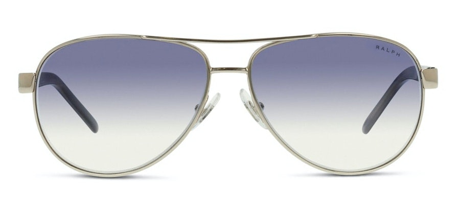 Ralph by Ralph Lauren RA 4004 Women's Sunglasses Blue/Silver
