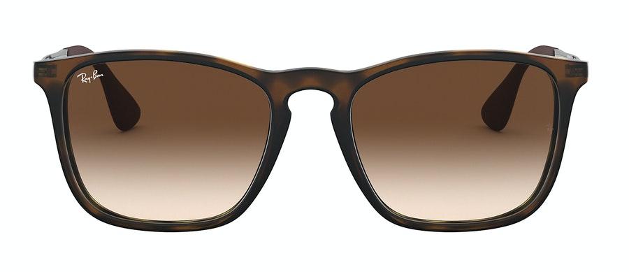Ray-Ban Chris RB4187 Men's Sunglasses Brown/Tortoise Shell