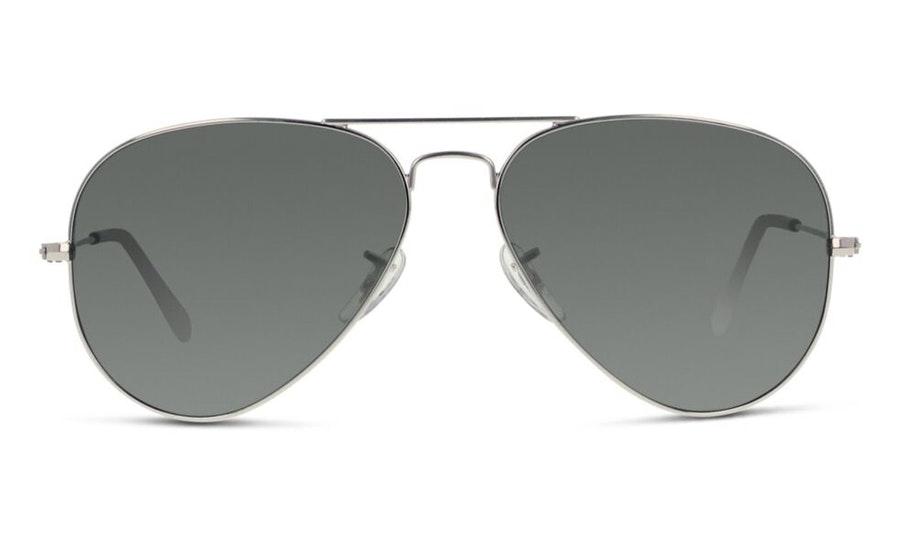 Ray-Ban Aviator RB 3025 Men's Sunglasses Grey / Silver