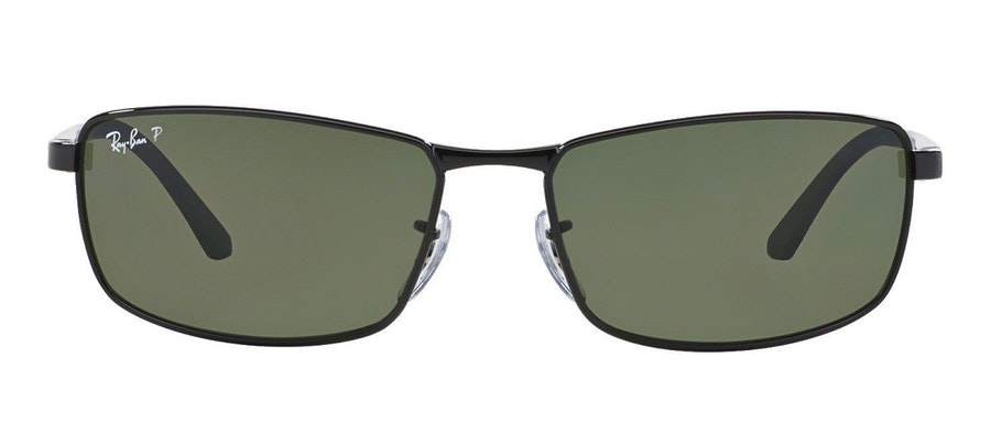 Ray-Ban RB3498 Men's Sunglasses Green/Black