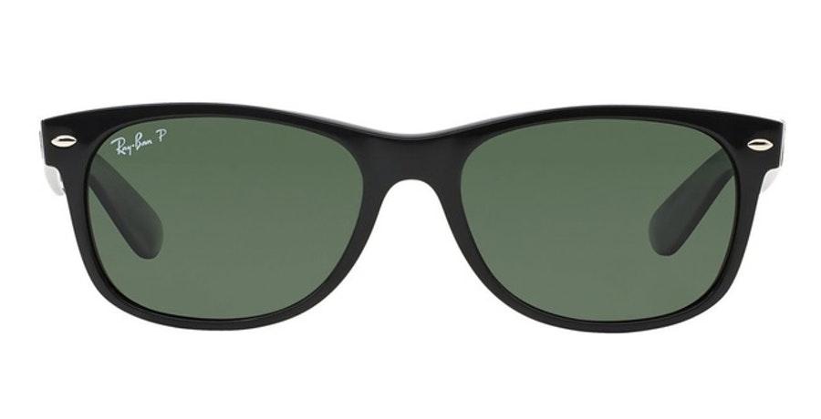 Ray-Ban New Wayfarer Classic RB 2132 Unisex Sunglasses Green / Black